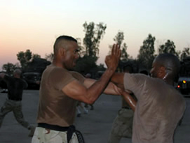 Master Thomas Felder teaching oin Baghdad